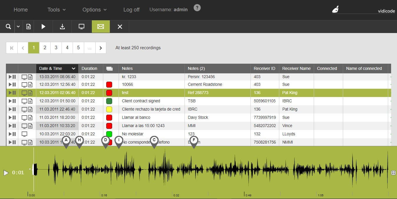 Apresa call recording software